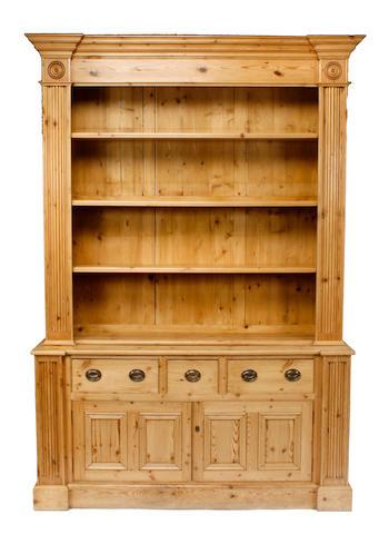 A George III style pine dresser