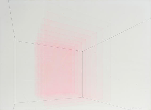 Jud Fine (American, born 1944) Untitled, 1971 23 x 30in