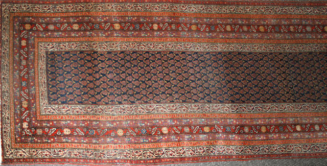 A Seraband runner Size approximately 3ft. 6in. x 15ft.