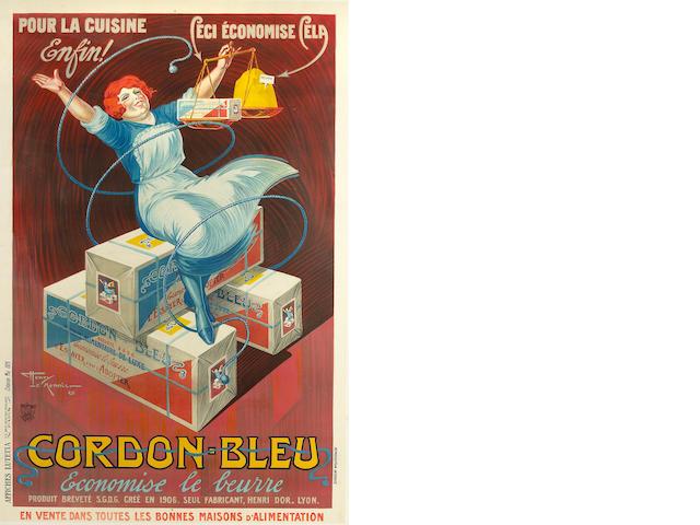 Henry le Monnier (French, 1893-1978); Cordon bleu économise le beurre;