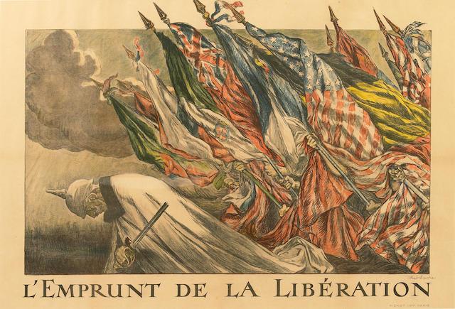Jules-Abel Faivre (French, 1867-1945); L'Emprunt de la libération;