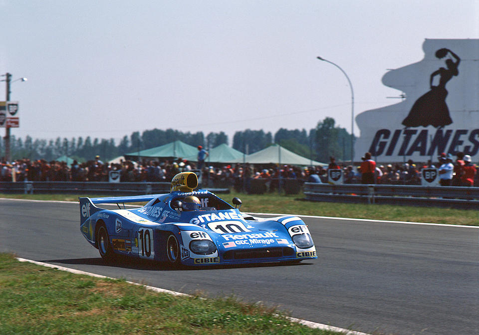 The Ex-Vern Schuppan/Jean-Pierre Jaussaud, Jean-Louis Lafosse/Francois Migault – Le Mans 3rd place 1975 – 2nd place 1976,1974-75 Gulf-Cosworth GR8 Endurance Racing Sports-Prototype  Chassis no. 802 Engine no. DFV 941