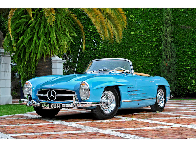 1960 Mercedes-Benz 300SL Roadster  Chassis no. 198-042-10-002619