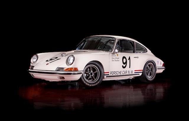 The Ex-Porsche Cars Northwest, 1967 Kent 300 Trans-Am Under 2-Liter Class Winning,1967 Porsche 911S Sport Kit II  Chassis no. 307828S