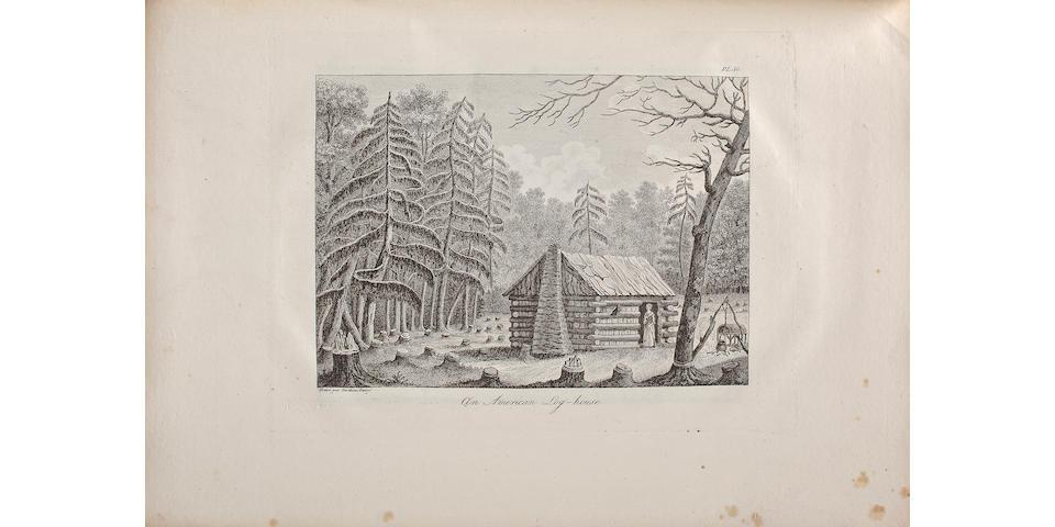COLLOT, GEORGES H. VICTOR. 1751?-1805.<BR> Voyage dans l'Amérique septentrionale, ou Description des pays arrosés par le Mississippi, l'Ohio, le Missouri et autres rivières affluentes....  Paris: Arthus Bertrand, 1826 [but printed in 1804/5].