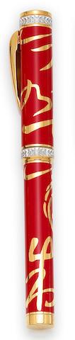CARAN d'ACHE: Hong Kong Limited Edition Fountain Pen