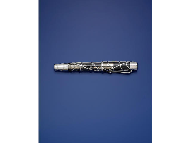 MONTBLANC: Magical Black Widow Skeleton Limited Edition 88 Fountain Pen