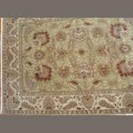 An Indian carpet size approximately 3ft. x 5ft.
