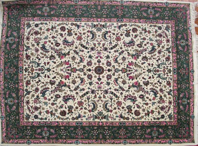 A Pakistani carpet Size approximately 8ft. x 10 ft.