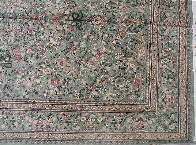 A Pakistani carpet size approximately 12ft. x 17ft. 5in.