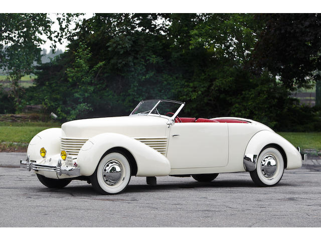 1936 Cord 810   Chassis no. 1206 H Engine no. 773 1206