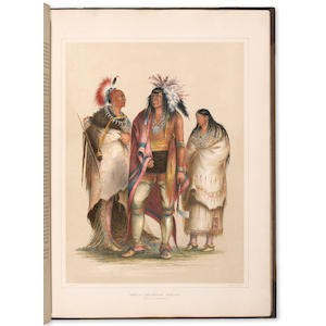260	1844	1844	Catlin, George (tall shelf)	Catlin's North American Indian Portfolio.  	London	2000	 $148,750 	Laird Park	Lot 49