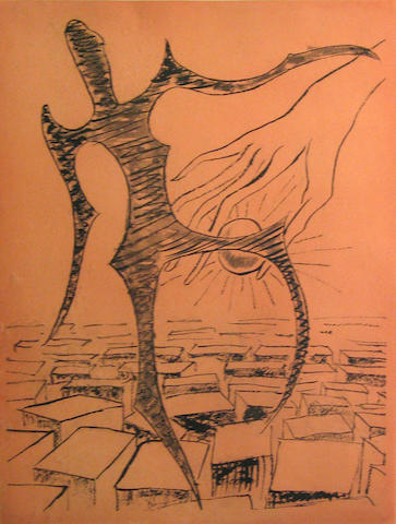 Man Ray (American, 1890-1976); Rebus;
