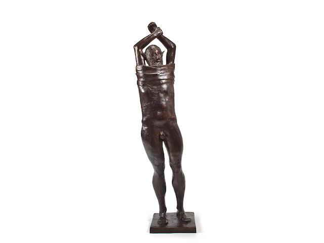(n/a) Leonard Baskin (American, 1922-2000) Marsyas, 1971  47in (119.38cm) x 10in (25.4cm) x 9in (22.86cm)