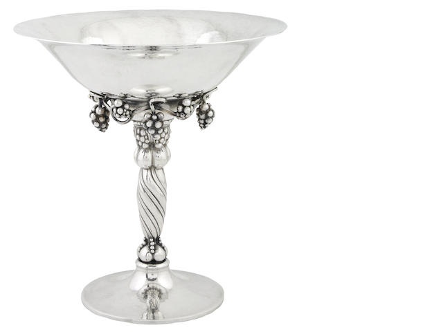 Danish sterling compote by Georg Jensen