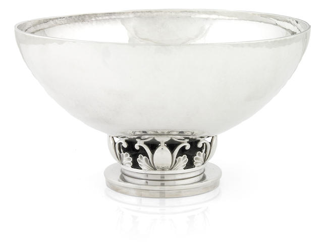 Danish sterling bowl by Georg Jensen