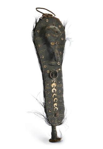 A Kambot flute ornament, East Sepik Province, New Guinea