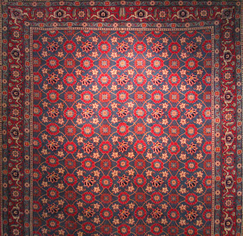 A Vermin carpet size approximately 7ft. 10in. x 10ft. 8in.