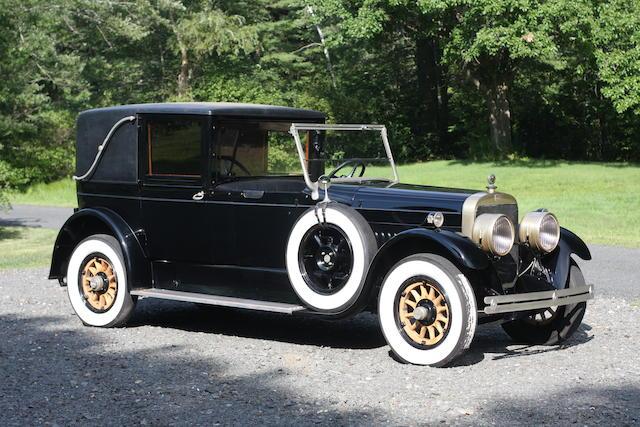 1922 Cunningham Series V-4 Model 82-A Town Limousine  Chassis no. V4627 Engine no. V4633