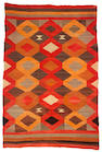 A Navajo transitional rug, 6ft 11in x 4ft 8in