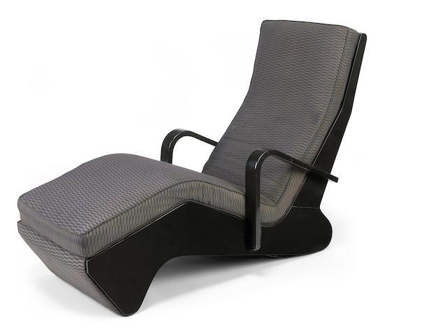 A Marcel Breuer chaise longue