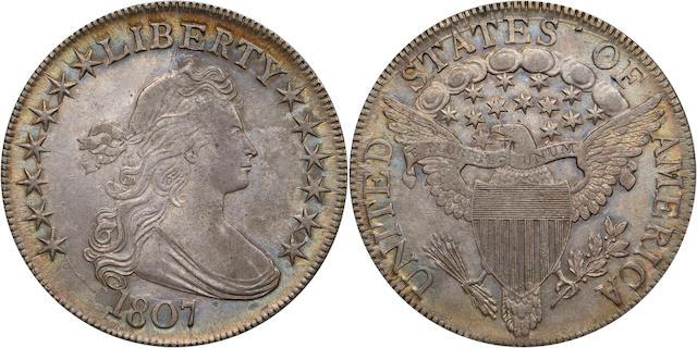 1807 50C Draped Bust