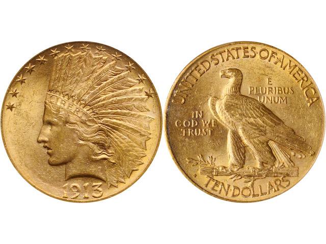1913-S $10 MS63 PCGS