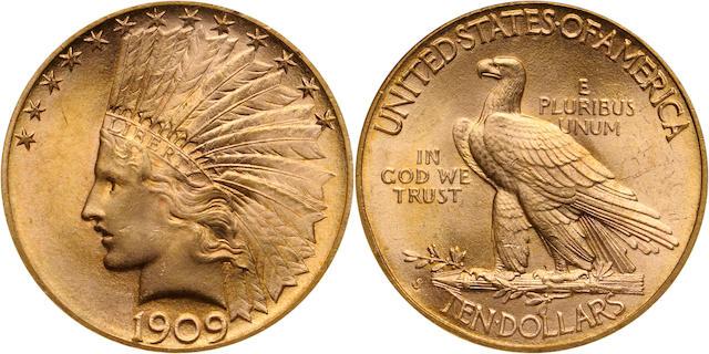1909-S $10 MS65 NGC