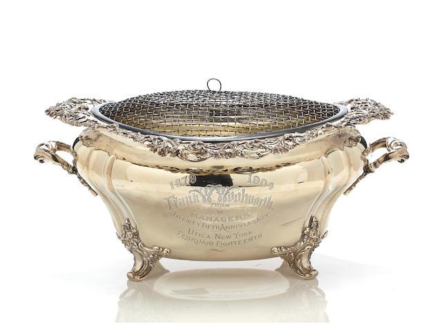 An impressive American silver two-handled centerbowl  Reed & Barton, Taunton, Massachusetts, circa 1904