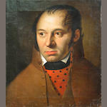 Style of Antoine Jean (Baron Gros) Gros A portrait of a gentleman, quarter-length for BK 17 x 15in unframed
