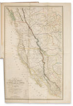 M. DUFLOT DE MOFRAS Exploration de Territoire de L'Oregon, des Californies et de La Mer Vermeille executee pendant les anees 1840, 1841 et 1842 [2 vols text +,atlas] 1844 Paris.