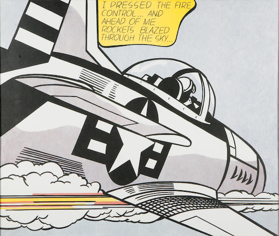 Roy Lichtenstein (American, 1923-1997); Whaam!; (2)
