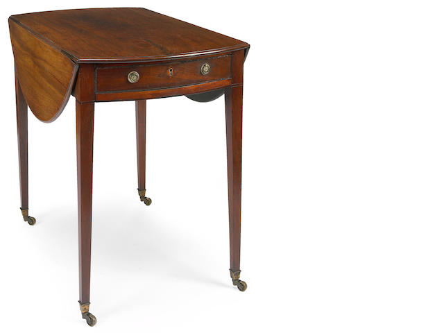 A George III walnut pembroke table