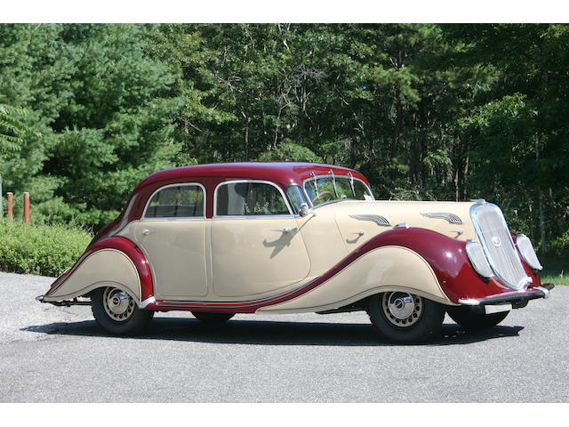 1936 Panhard X76 Dynamic  Chassis no. 200128 Engine no. 200128