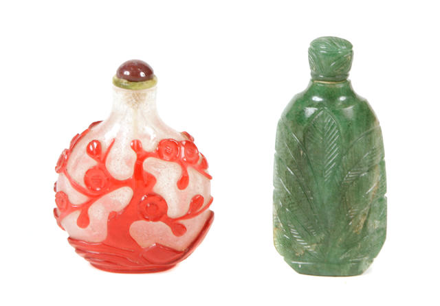 A group of Chinese snuff bottles