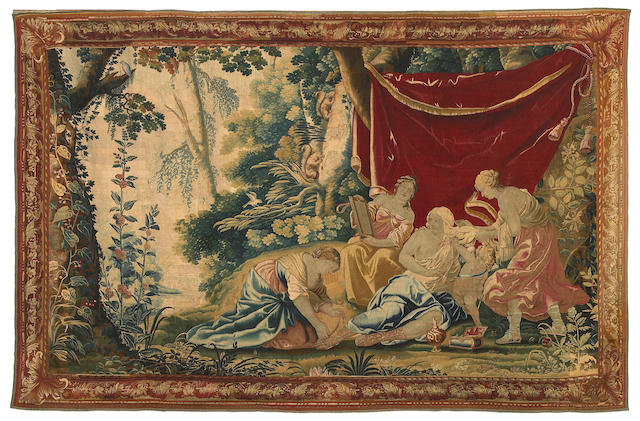 A French Baroque mythological tapestry  late 17th/early 18th century