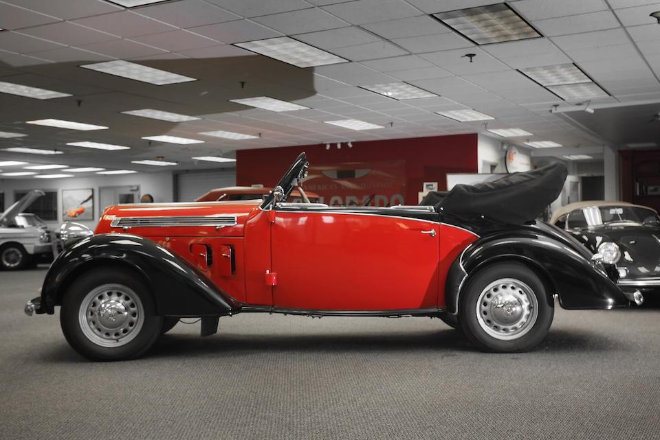 1935 Steyr 120S Super 2-Door Convertible  Chassis no. C368S Engine no. C368S