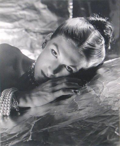 George Platt Lynes (American, 1907-1955); Untitled (Fashion model);