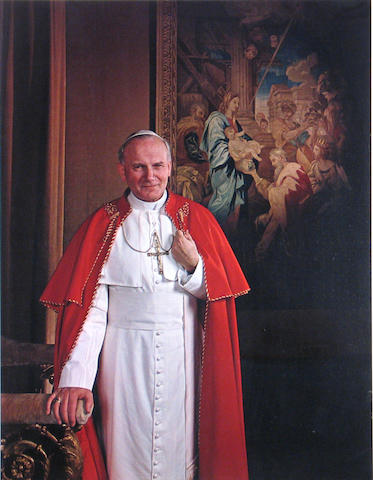 Yousuf Karsh (Canadian, 1908-2002); Pope John Paul II;
