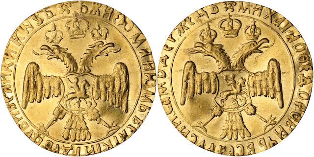 Russia, Mikhail I Fyodorovich Romanov, 1613-1645, 2/3 Ducat, ND