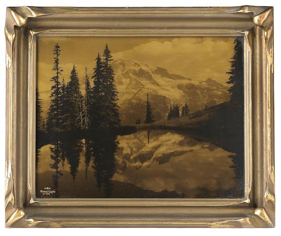 Asahel Curtis (American, 1874-1941); Mount Rainier, Washington;