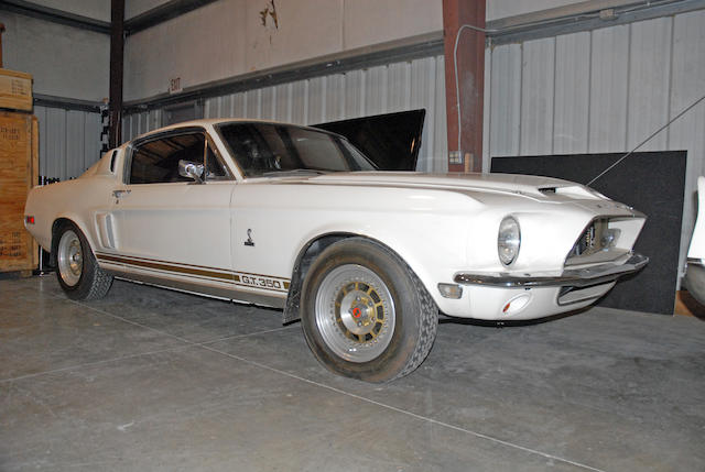 1968 Shelby Mustang GT350  Chassis no. 8T02J134499