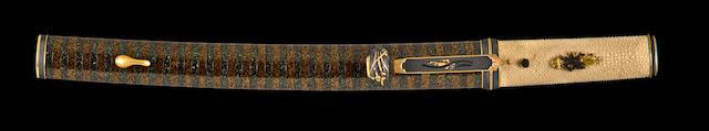 An aikuchi goshirae for a wakizashi Edo period, 18th-19th century