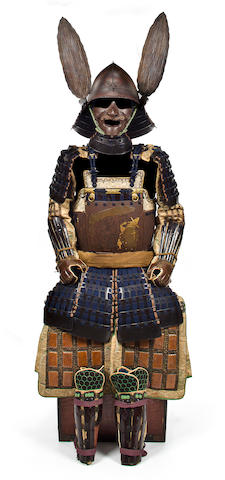 An armor with Nanban decoration Edo period, 17th-18th century