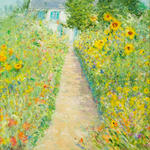 Oil on Canvas by Duane Alt Journerois a Giverney
