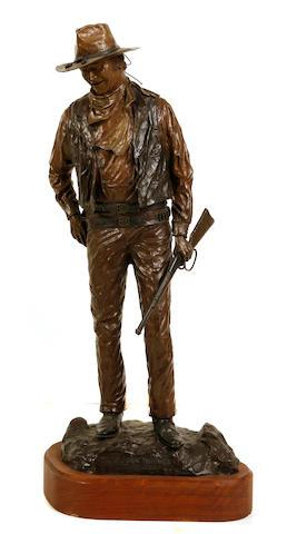 David Manuel (American, born 1940) John Wayne 'American' Height: 28in