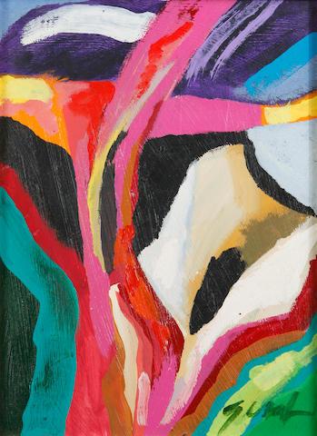 Bill Gersh (American, 1943-1994) Datura Bluff, 1989 12 x 8 7/8in