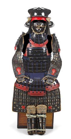 An armor with a Daikoku nari kabuto Edo period, 19th century