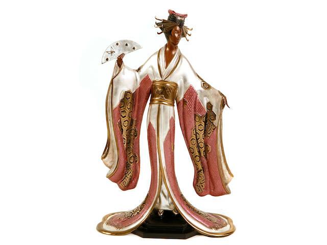 Erté (Romain de Tirtoff) (Russian, 1892-1990); Madame Butterfly;