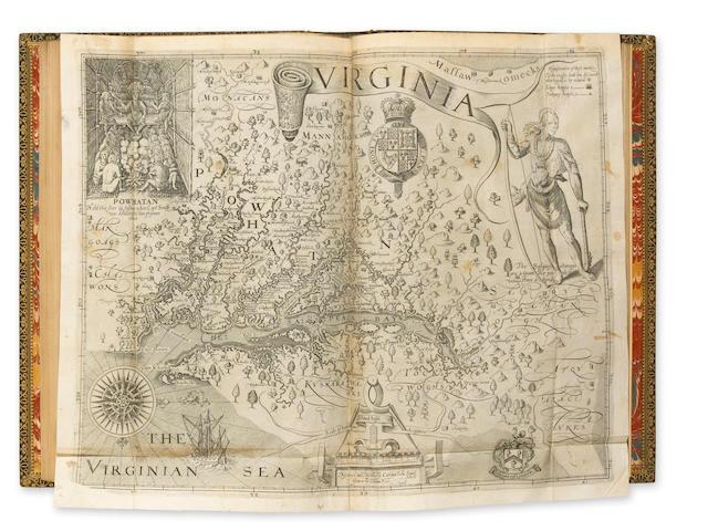PURCHAS. Pilgrims. L:1625-26. 5 vols. Folio.